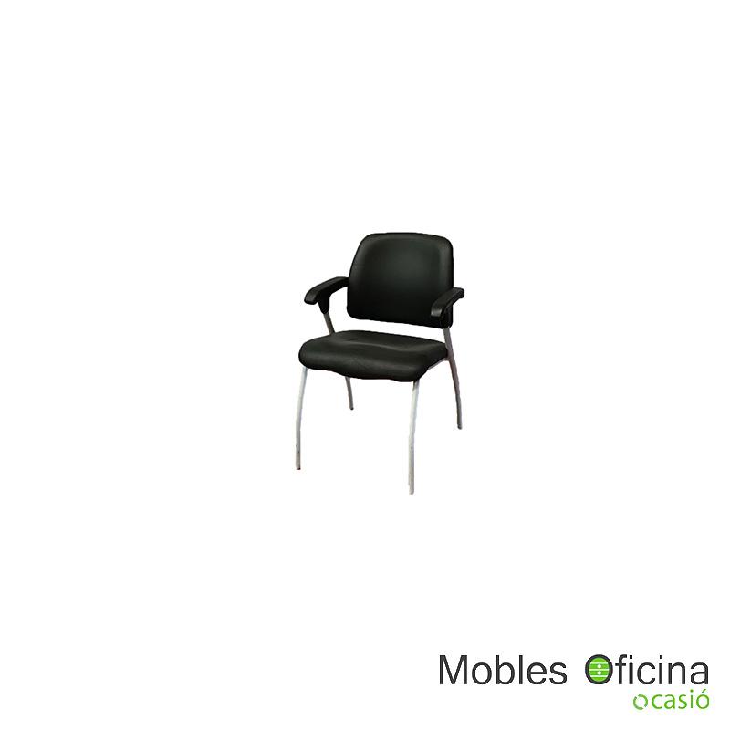 Cadira confident negra